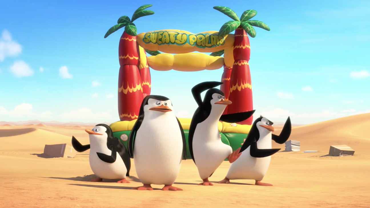 Penguins Of Madagascar 2014 The Book The Film The T Shirt
